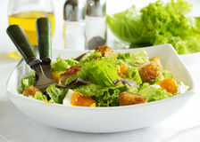 Salad with croutons, Stock Photography