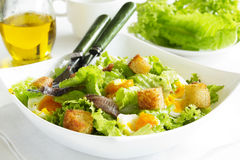 Salad with croutons, Stock Photos