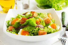 Salad with croutons, Royalty Free Stock Image