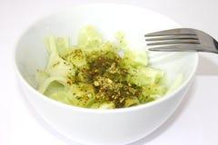 Salad of cucumbers Stock Photos