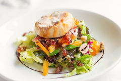 Salad dish with cheese Royalty Free Stock Photography