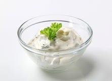 Salad dressing Royalty Free Stock Photos