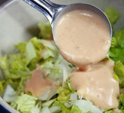 Salad Dressing Stock Images
