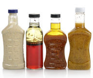 Salad Dressings Royalty Free Stock Photo