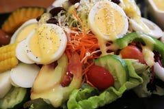 Salad with egg Stock Photos
