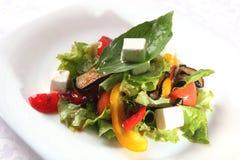 Salad with Eggplant Stock Image