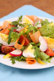 Salad with eggs Royalty Free Stock Photo