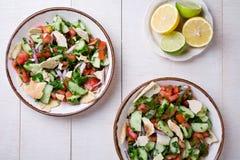 Salad Fattoush Royalty Free Stock Photos