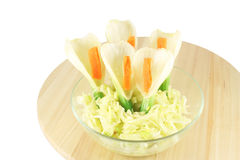 Salad with fennel Stock Photos