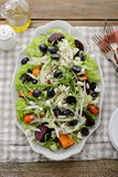 Salad with fennel and roasted vegetables Stock Image