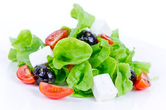 Salad with feta Stock Image