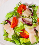Salad with fish Stock Photography
