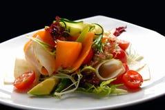 Salad with fresh Stock Photo
