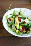 Salad with fresh avocado Royalty Free Stock Photos