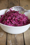Salad of fresh beets Royalty Free Stock Photo