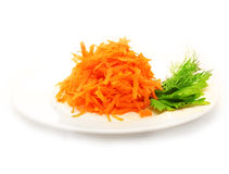 Salad of fresh grated Stock Images