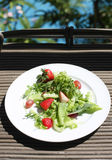 Salad. Fresh green salad it is good for diet and good health Royalty Free Stock Images