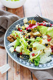 Salad with fresh pear Royalty Free Stock Photography