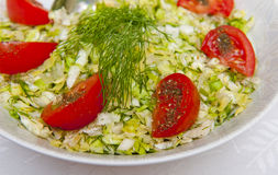 Salad. Fresh salad on the table Royalty Free Stock Photo