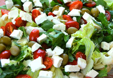 Salad With Fresh Vegetables Royalty Free Stock Photo