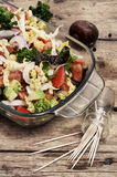 Salad of fresh vegetables Royalty Free Stock Photo