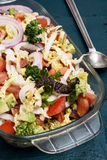 Salad of fresh vegetables Stock Images