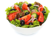 Salad of fresh vegetables Royalty Free Stock Photos