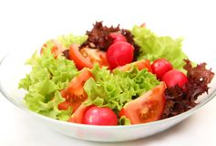 Salad From Fresh Vegetables Royalty Free Stock Photography