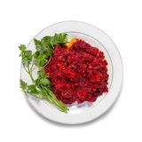 Salad From Stewed Beet Stock Images