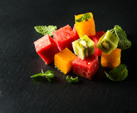 Salad of frtuits Stock Images