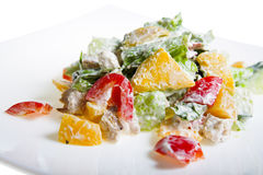 Salad with fruit Royalty Free Stock Photos
