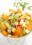 Salad from fruit Stock Photos