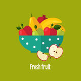 Salad From Fruit and Berries Royalty Free Stock Photography