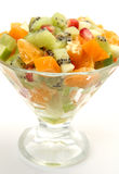 Salad from fruit Stock Photo