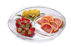 Salad fruits Royalty Free Stock Photos