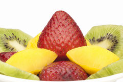 Salad Fruits Stock Photo