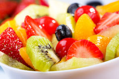Salad with fruits and berries Stock Image