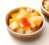 Salad of fruits Royalty Free Stock Photos