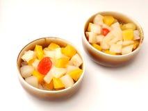 Salad of fruits Stock Photo