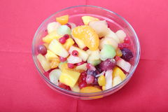 Salad of fruits Stock Photography