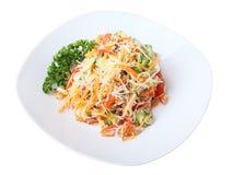 Salad funchoza Stock Image
