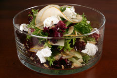 Salad in glass Royalty Free Stock Photo