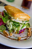 Salad with goat cheese Stock Photography