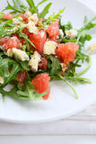 Salad with grapefruit and Roquefort Stock Images