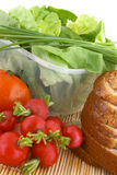 Salad-greate breakfast Stock Photo