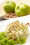 Salad from green apples Stock Image