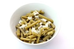 Salad of green beans Stock Photography