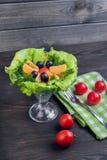 Salad green leaf lettuce Royalty Free Stock Images
