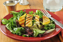 Salad with grilled pears Royalty Free Stock Photography