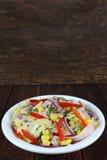 Salad with ham Royalty Free Stock Photo
